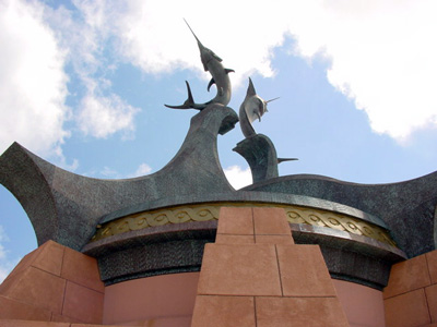 Custom sculpture and dome - Atlantis Resort, Paradise Island, Bahamas