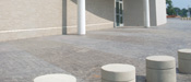 Architectural Bollards and Safety Planters by Stromberg