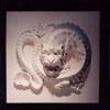 bas-relief lion