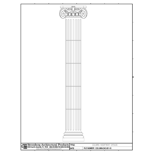 Architectural Columns Product : Columns sco by stromberg architectural products