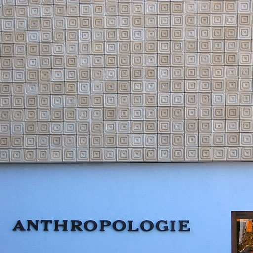 GFRC wall cladding for Anthropologie.
