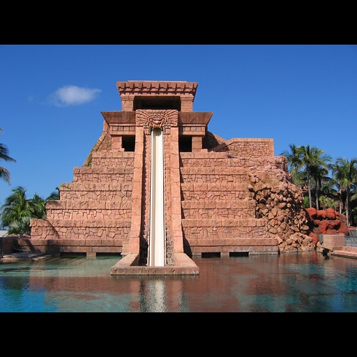 GFRC waterslide at Atlantis.