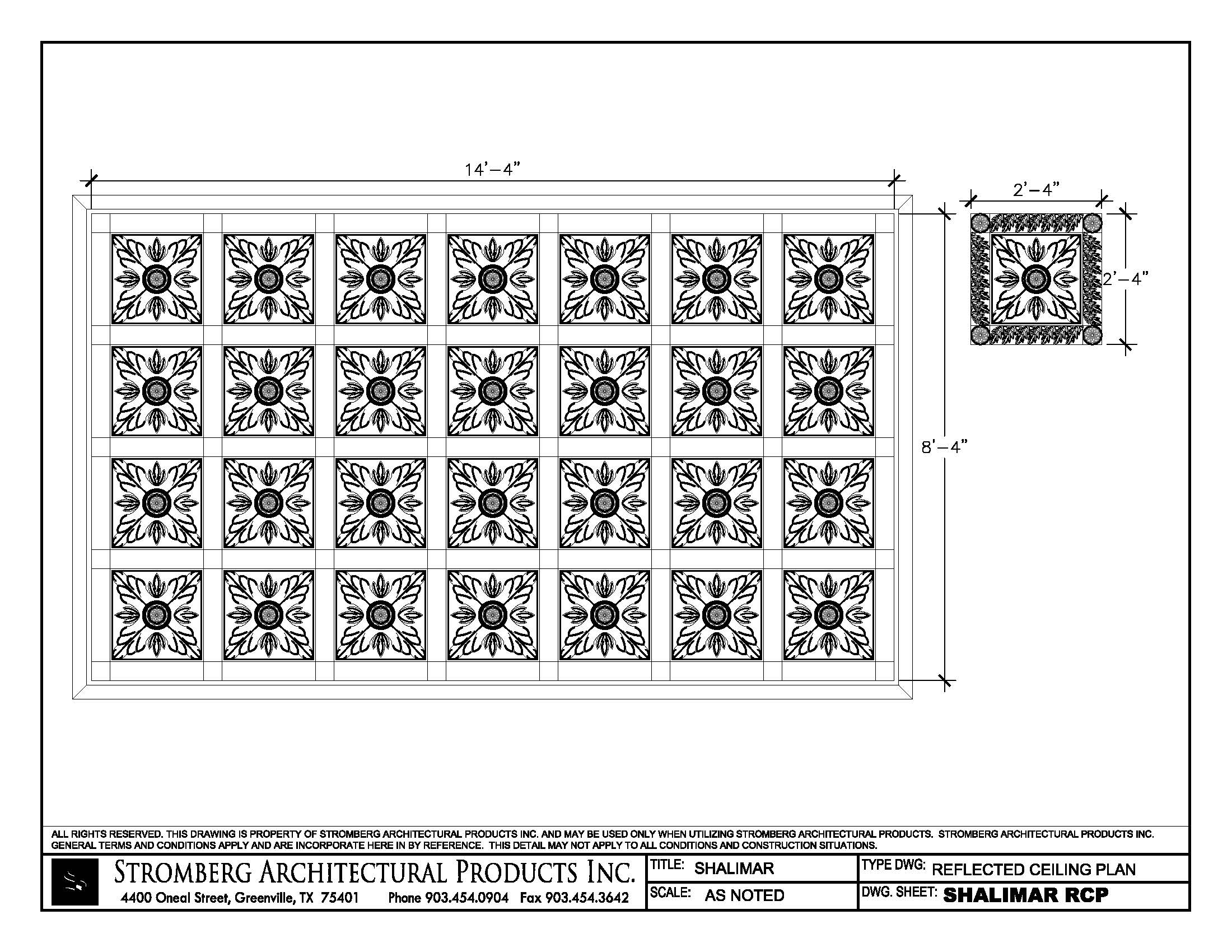 Gfrg Reflected Ceiling Plan