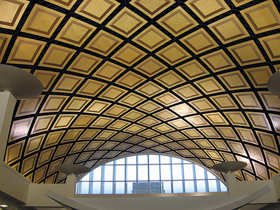 For Government Barrel Vaulting by Stromberg Architectural Products
