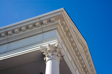 Architectural Cornice For Renovation And Restoration Building Projects