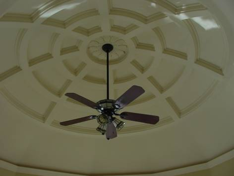 coffered dome