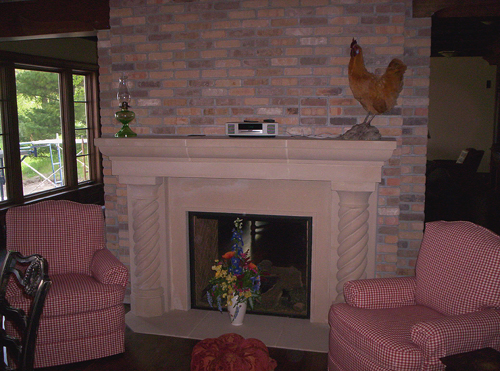 Cast Stone Fireplaces by Stromberg Architectural Products